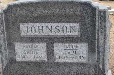 JOHNSON, SADIE - Dixon County, Nebraska | SADIE JOHNSON - Nebraska Gravestone Photos