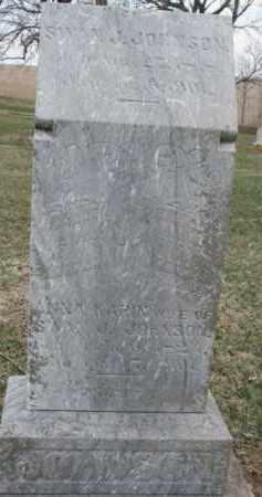 JOHNSON, ANNA KARIN - Dixon County, Nebraska | ANNA KARIN JOHNSON - Nebraska Gravestone Photos