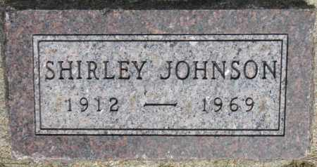 JOHNSON, SHIRLEY - Dixon County, Nebraska | SHIRLEY JOHNSON - Nebraska Gravestone Photos