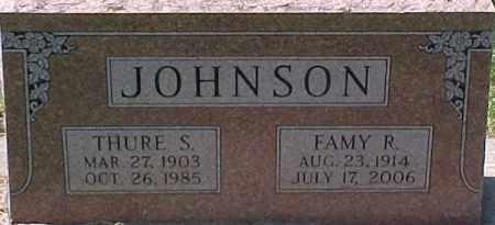 JOHNSON, THURE S. - Dixon County, Nebraska | THURE S. JOHNSON - Nebraska Gravestone Photos