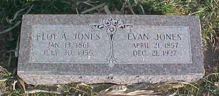 JONES, FLOY A. - Dixon County, Nebraska   FLOY A. JONES - Nebraska Gravestone Photos