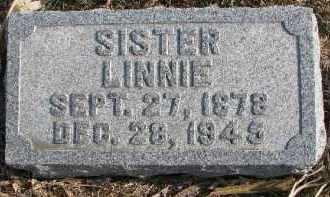JONES, LINNIE - Dixon County, Nebraska | LINNIE JONES - Nebraska Gravestone Photos