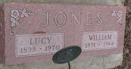 JONES, LUCY - Dixon County, Nebraska | LUCY JONES - Nebraska Gravestone Photos
