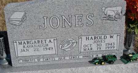 JONES, MARGARET A. - Dixon County, Nebraska | MARGARET A. JONES - Nebraska Gravestone Photos