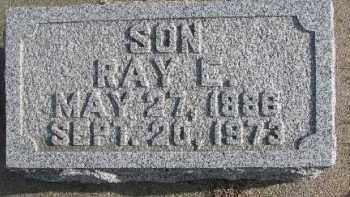 JONES, RAY E. - Dixon County, Nebraska | RAY E. JONES - Nebraska Gravestone Photos