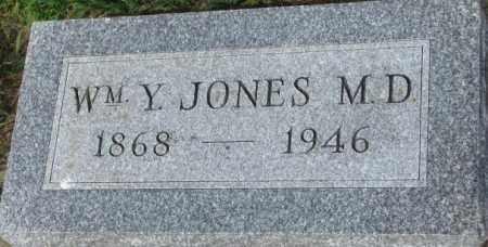 JONES, WILLIAM Y. - Dixon County, Nebraska   WILLIAM Y. JONES - Nebraska Gravestone Photos
