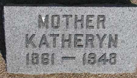 JOPP, KATHERYN - Dixon County, Nebraska | KATHERYN JOPP - Nebraska Gravestone Photos