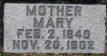 JOPP, MARY - Dixon County, Nebraska | MARY JOPP - Nebraska Gravestone Photos