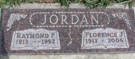 JORDAN, RAYMOND F. - Dixon County, Nebraska | RAYMOND F. JORDAN - Nebraska Gravestone Photos