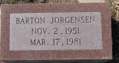 JORGENSEN, BARTON - Dixon County, Nebraska | BARTON JORGENSEN - Nebraska Gravestone Photos