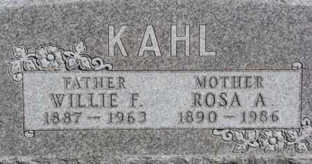 KAHL, ROSA A. - Dixon County, Nebraska | ROSA A. KAHL - Nebraska Gravestone Photos