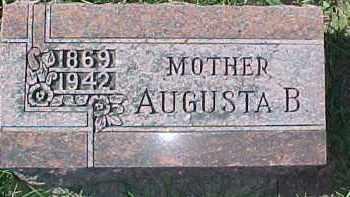 KAI, AUGUSTA B. - Dixon County, Nebraska | AUGUSTA B. KAI - Nebraska Gravestone Photos