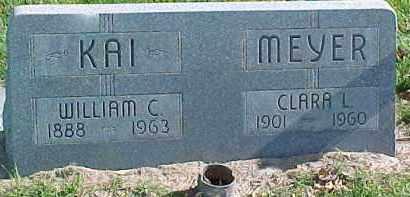 KAI, WILLIAM C. - Dixon County, Nebraska | WILLIAM C. KAI - Nebraska Gravestone Photos
