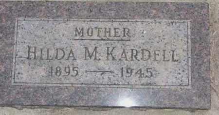 KARDELL, HILDA M. - Dixon County, Nebraska | HILDA M. KARDELL - Nebraska Gravestone Photos