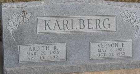KARLBERG, ARDITH R. - Dixon County, Nebraska | ARDITH R. KARLBERG - Nebraska Gravestone Photos