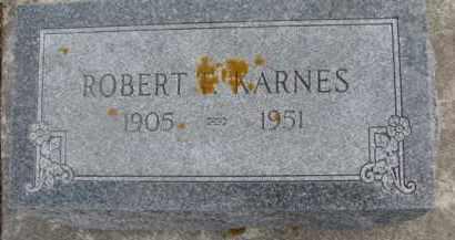 KARNES, ROBERT FOREST - Dixon County, Nebraska | ROBERT FOREST KARNES - Nebraska Gravestone Photos