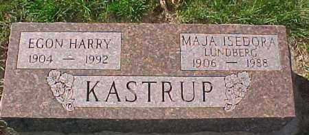 LUNDBERG KASTRUP, MAJA ISEDORA - Dixon County, Nebraska | MAJA ISEDORA LUNDBERG KASTRUP - Nebraska Gravestone Photos