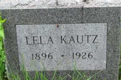 KAUTZ, LELA - Dixon County, Nebraska   LELA KAUTZ - Nebraska Gravestone Photos