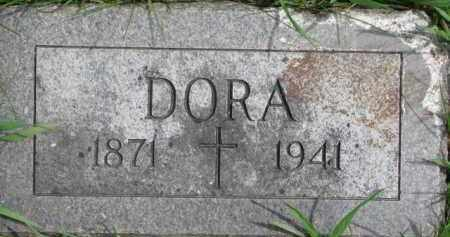 KAVANAUGH, DORA - Dixon County, Nebraska | DORA KAVANAUGH - Nebraska Gravestone Photos