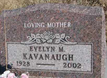 KAVANAUGH, EVELYN M. - Dixon County, Nebraska | EVELYN M. KAVANAUGH - Nebraska Gravestone Photos
