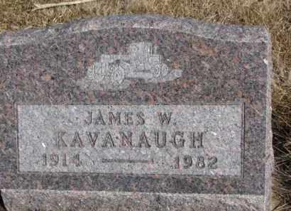 KAVANAUGH, JAMES W. - Dixon County, Nebraska | JAMES W. KAVANAUGH - Nebraska Gravestone Photos