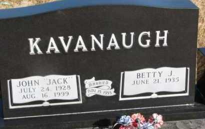 KAVANAUGH, BETTY J. - Dixon County, Nebraska | BETTY J. KAVANAUGH - Nebraska Gravestone Photos
