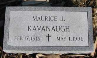 KAVANAUGH, MAURICE J. - Dixon County, Nebraska   MAURICE J. KAVANAUGH - Nebraska Gravestone Photos