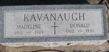 KAVANAUGH, DONALD - Dixon County, Nebraska | DONALD KAVANAUGH - Nebraska Gravestone Photos