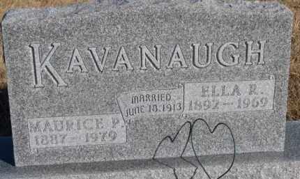 KAVANAUGH, MAURICE P. - Dixon County, Nebraska | MAURICE P. KAVANAUGH - Nebraska Gravestone Photos