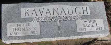 KAVANAUGH, SADIE L. - Dixon County, Nebraska   SADIE L. KAVANAUGH - Nebraska Gravestone Photos