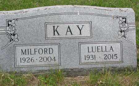 KAY, LUELLA - Dixon County, Nebraska   LUELLA KAY - Nebraska Gravestone Photos