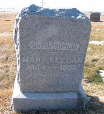 KEEGAN, MARY - Dixon County, Nebraska   MARY KEEGAN - Nebraska Gravestone Photos
