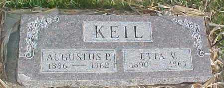 KEIL, ETTA W. - Dixon County, Nebraska   ETTA W. KEIL - Nebraska Gravestone Photos