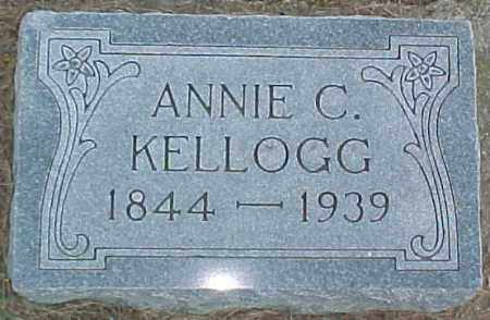 KELLOGG, ANNIE C - Dixon County, Nebraska | ANNIE C KELLOGG - Nebraska Gravestone Photos