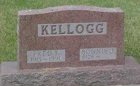 KELLOGG, FREDRICK BRADLEY - Dixon County, Nebraska | FREDRICK BRADLEY KELLOGG - Nebraska Gravestone Photos