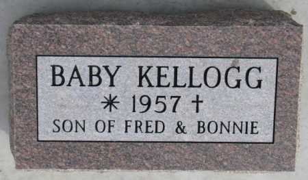 KELLOGG, INFANT - Dixon County, Nebraska | INFANT KELLOGG - Nebraska Gravestone Photos