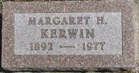 KERWIN, MARGARET H. - Dixon County, Nebraska | MARGARET H. KERWIN - Nebraska Gravestone Photos