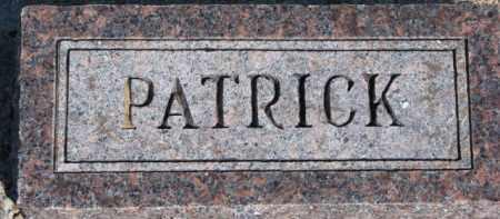 KERWIN, PATRICK - Dixon County, Nebraska | PATRICK KERWIN - Nebraska Gravestone Photos