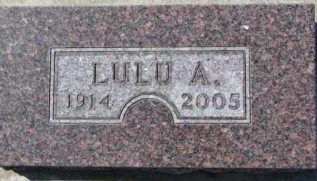 KEUCK, LULU A. - Dixon County, Nebraska   LULU A. KEUCK - Nebraska Gravestone Photos