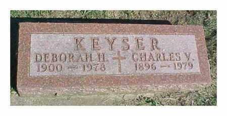KEYSER, CHARLES V - Dixon County, Nebraska | CHARLES V KEYSER - Nebraska Gravestone Photos