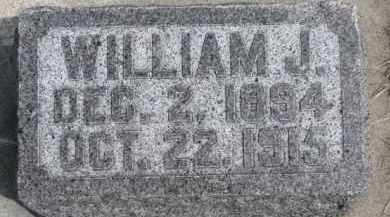 KIELY, WILLIAM J. - Dixon County, Nebraska | WILLIAM J. KIELY - Nebraska Gravestone Photos