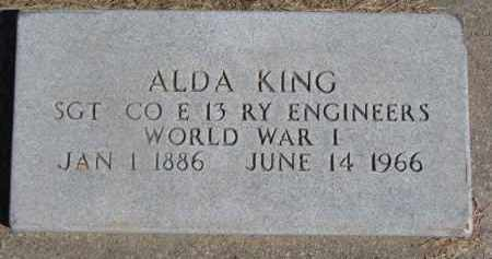 KING, ALDA - Dixon County, Nebraska | ALDA KING - Nebraska Gravestone Photos