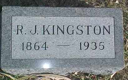 KINGSTON, R.J. - Dixon County, Nebraska | R.J. KINGSTON - Nebraska Gravestone Photos