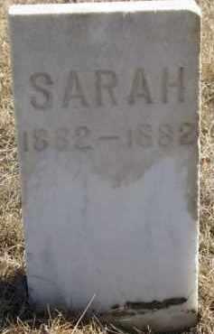 KINGSTON, SARAH - Dixon County, Nebraska | SARAH KINGSTON - Nebraska Gravestone Photos