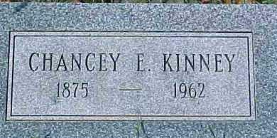 KINNEY, CHANCEY E. - Dixon County, Nebraska | CHANCEY E. KINNEY - Nebraska Gravestone Photos