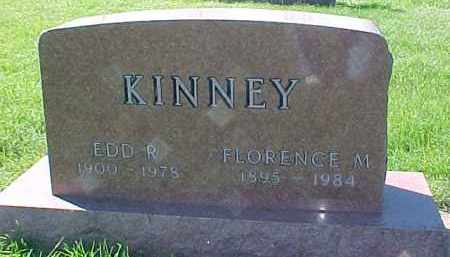 KINNEY, FLORENCE M. - Dixon County, Nebraska | FLORENCE M. KINNEY - Nebraska Gravestone Photos
