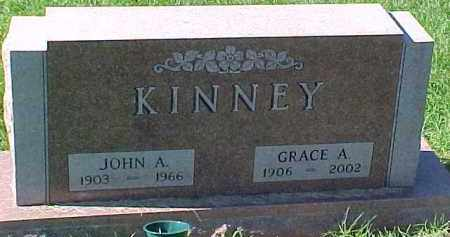 KINNEY, GRACE A. - Dixon County, Nebraska   GRACE A. KINNEY - Nebraska Gravestone Photos