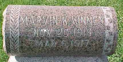 KINNEY, MARVIN K. - Dixon County, Nebraska | MARVIN K. KINNEY - Nebraska Gravestone Photos
