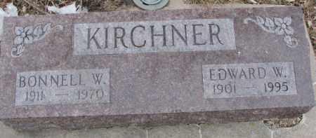 KIRCHNER, BONNELL W. - Dixon County, Nebraska | BONNELL W. KIRCHNER - Nebraska Gravestone Photos