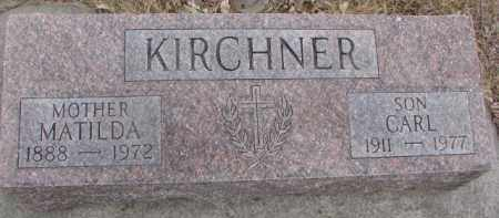 KIRCHNER, CARL - Dixon County, Nebraska | CARL KIRCHNER - Nebraska Gravestone Photos